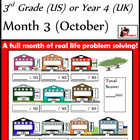 Problem Solving Path - Grade 3/ Year 4 - Month 3