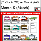 Problem Solving Path - Grade 3/ Year 4 - Month 8