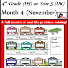 Problem Solving Path - Grade 4/ Year 5 - Month 4