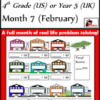 Problem Solving Path - Grade 4/ Year 5 - Month 7