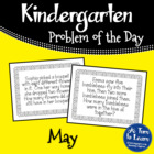 Kindergarten Problem of the Day - May
