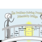 Problem solving friendship bridge for elementary students