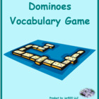 Profissoes (Professions in Portuguese) Dominoes