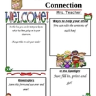 Programmable Classroom Newsletter Christmas Theme