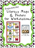 Programmable Literacy Maps and Posters for Workstations