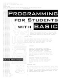 Programming for Students with Basic