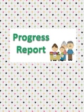 Progress Report - Primary Grades