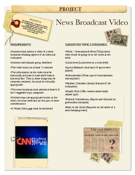 Project: News Broadcast