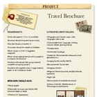 Project: Travel Brochure