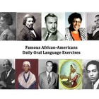 Prominent African-Americans Daily Oral Language Exercises