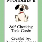 Pronoun (Me, I) Task Cards