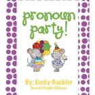 Pronoun Party! Center