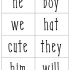 Pronoun Sort for First Grade