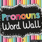 Pronouns Word Wall