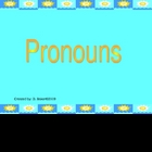 Pronouns Power Point Presentation