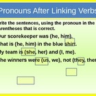 Pronouns: Review and Practice for Visual Learners