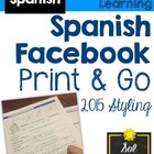 Spanish Facebook Project Template - Proyecto de Facebook e