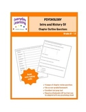 Psychology Intro and History Chapter Outline Questions