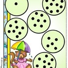 Puddle Jumpers Counting File Folder Game