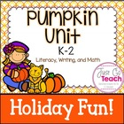 Pumpkin Activities for K-1