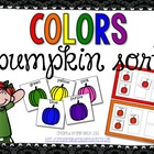 Pumpkin Color Sorting
