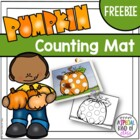 Pumpkin Counting Mat Freebie