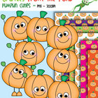 Pumpkin Cuties - Clipart for Teachers and Classrooms