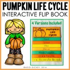 Pumpkin Life Cycle Flip-Flap Book (4 Differentiated Versions)