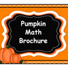 Pumpkin Math Brochure