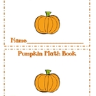 Pumpkin Math Mini Book