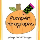Pumpkin Paragraphs