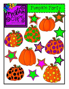 Pumpkin Party {Creative Clips Digital Clipart}