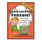 Pumpkin Patch Contractions Game Freebie!