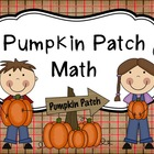 Pumpkin Patch Math
