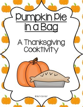 Pumpkin Pie in a Bag FREEBIE!