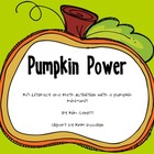 Pumpkin Power: K/1 Math and Literacy Activities