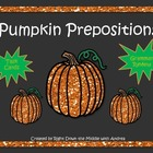 Pumpkin Prepostitions