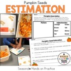 Pumpkin Seed Estimation Sheet
