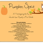 Pumpkin Spice Thanksgiving Math and Literacy Unit