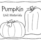 Pumpkin Unit Materials