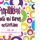 Pumpkinlicious Math and Literacy Activities