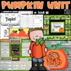 Pumpkins-Experiments, Literature, Craft and More!