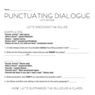 Punctuating Dialogue with Jokes
