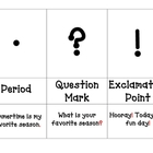 Punctuation 3 Part Cards
