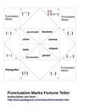 Punctuation Marks Fortune Teller