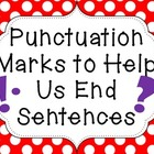 Punctuation Marks to End Sentences
