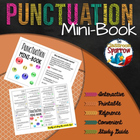 Punctuation Mini-Book (foldable, printable, fun-filled resource!)
