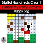 Puppy Dog Hundreds Chart Hidden Picture Activity for Math