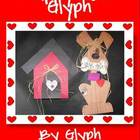 Puppy Love Glyph with Valentine Scrapbook