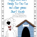 Puppy Love Word Family Games